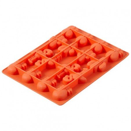 Stampo silicone Tropical