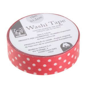 Washi tape rosso