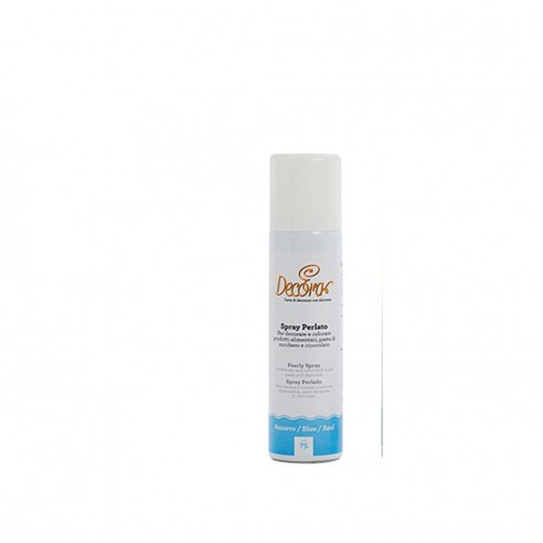Decora spray perlato Azzurro 75 ml