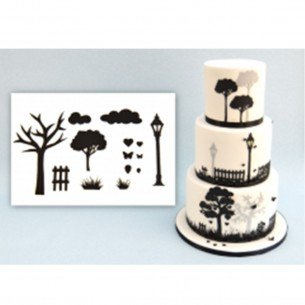 Countryside Silhouette Set