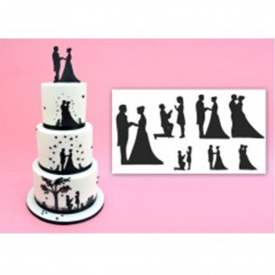 Wedding Silhouette Set