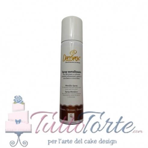 Decora Spray metallizzato Bronzo 75 ML