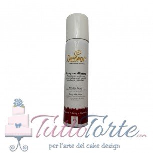 Decora spray metallizzato Rubino 75 ml