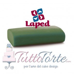 LAPED MODEL- pasta da modellaggio VERDE Kg 1