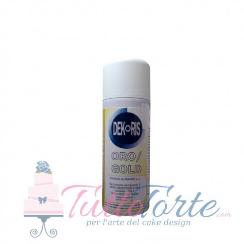 Colorante Spray Perlato Oro 50 ml
