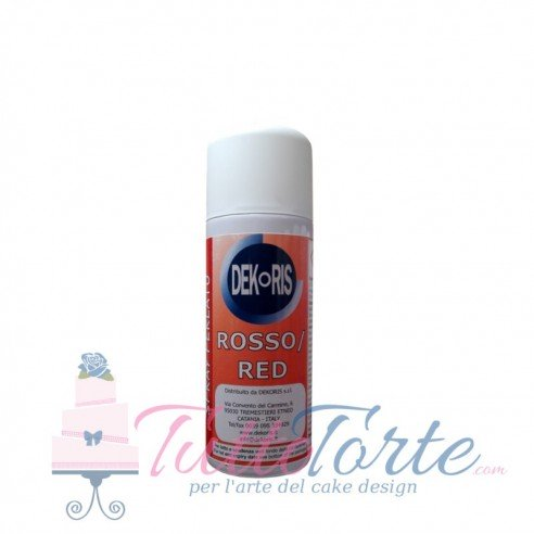 Colorante Spray Perlato Rosso 50 ml