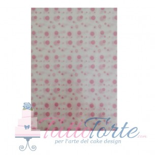 Wafer Paper Pink Baby Bubble
