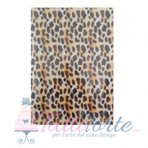 Wafer Paper Jungle Leopard